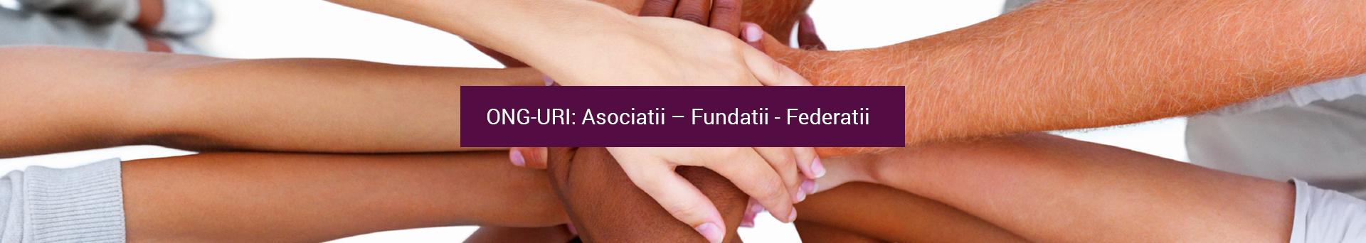 Asociatii – Fundatii - Federatii