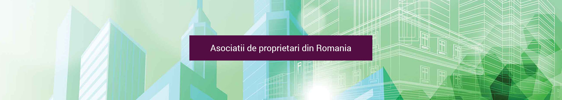 Asociatii de proprietari din Romania